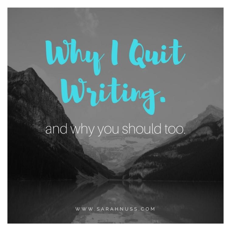 whyiquitwriting